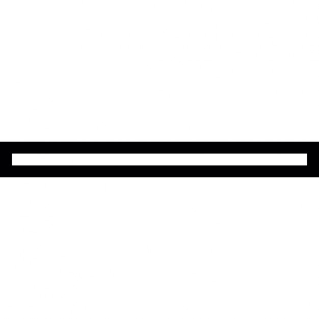 What is a Horizontal Line Horizontal Line Free Icon