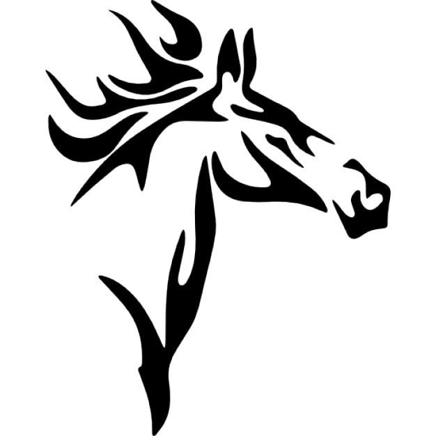 Horse head sketch variant Icons | Free Download