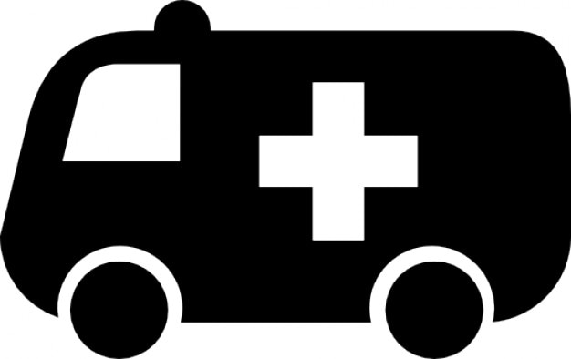 Hospital ambulance Free Icon