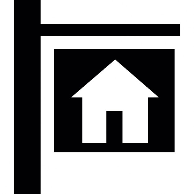 Free Houses For Rent: House For Rent Or Sale Signal Icons