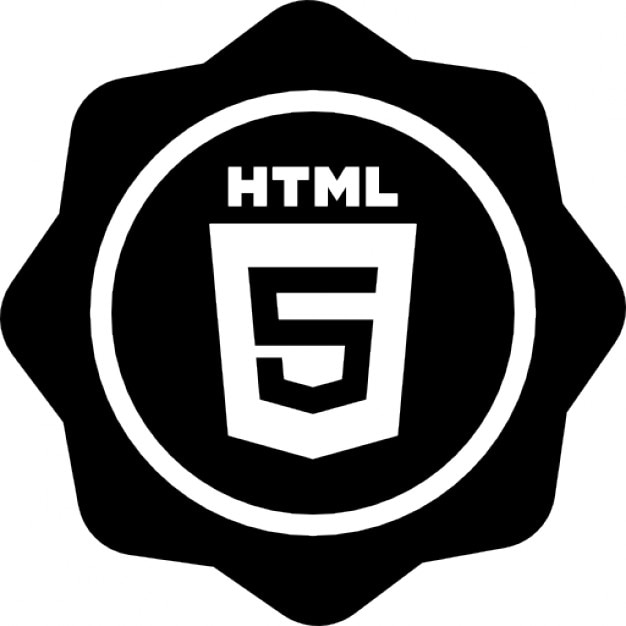 Html 5 Badge Icons Free Download