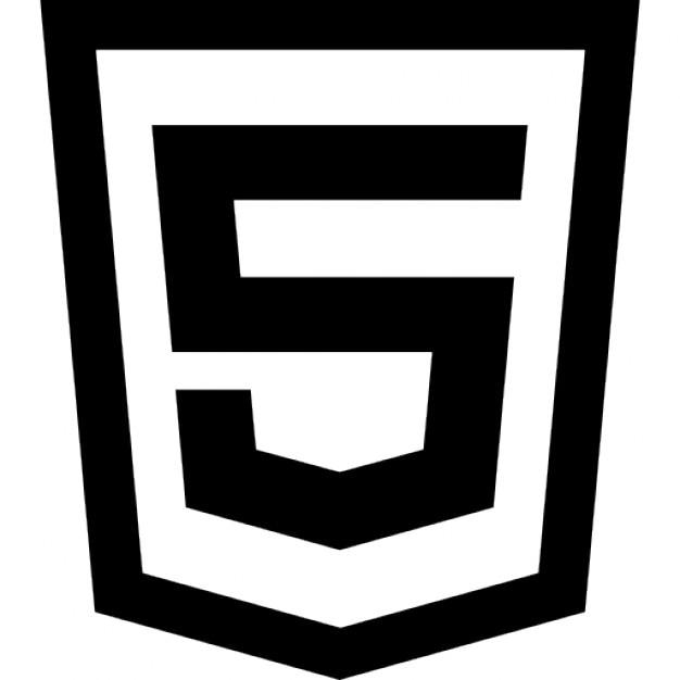 Html 5 logo Free Icon