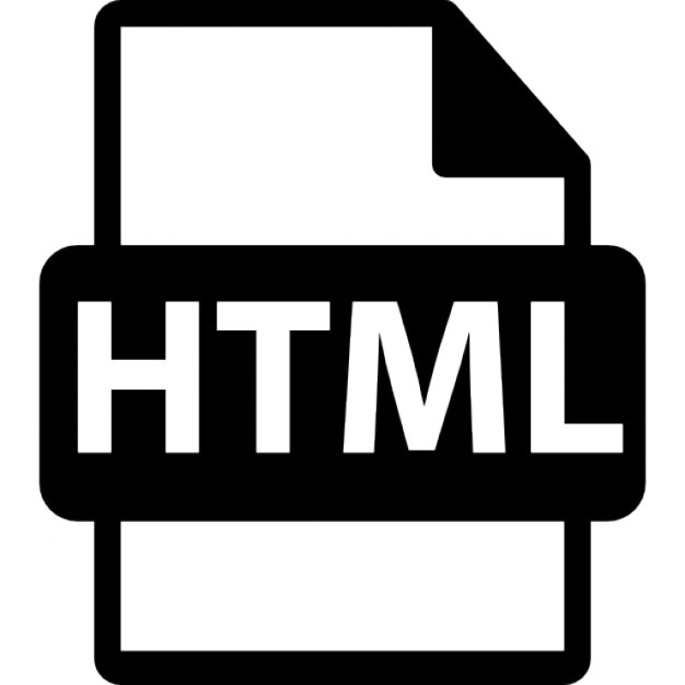 html file extension interface symbol icons | free download, Cephalic Vein