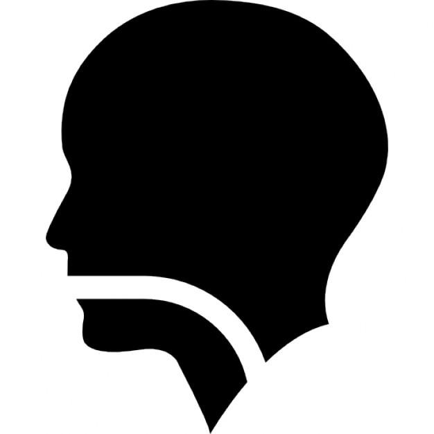 Human Head Profile Sil...