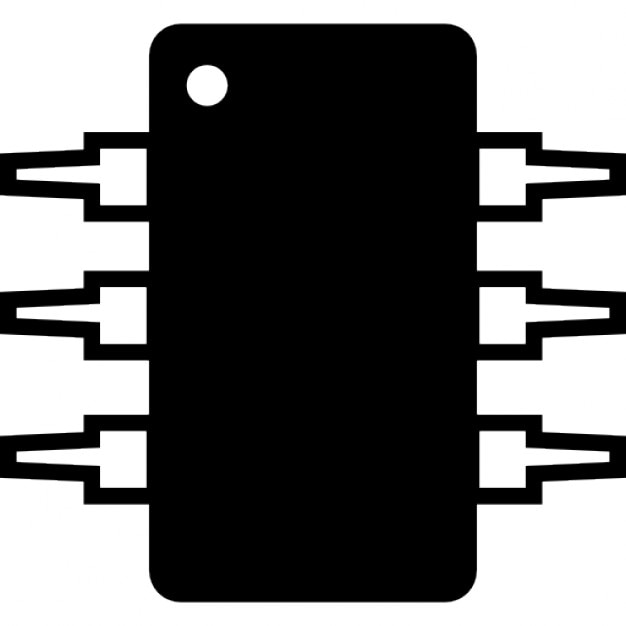 Ic Integrated Circuit Michrochip Ios 7 Symbol Icons Free Download