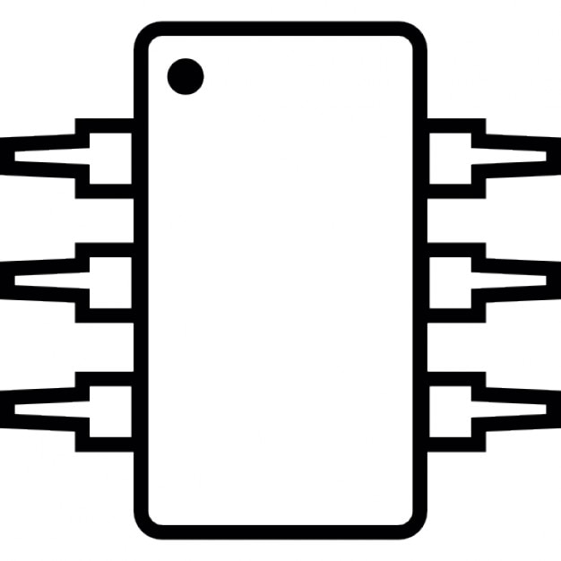 ic  integrated circuit  michrochip  ios 7 symbol icons