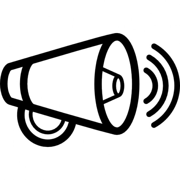 Increase Volume Interface Symbol Of A Speaker Outline Icons Free