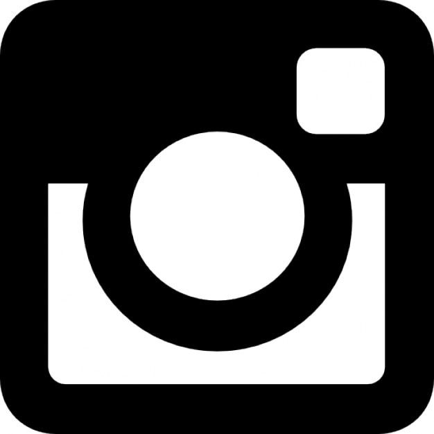 Instagram social network logo of photo camera Free Icon