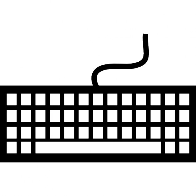keyboard with keys and cable icons free download piano keys clip art black and white piano keyboard clipart