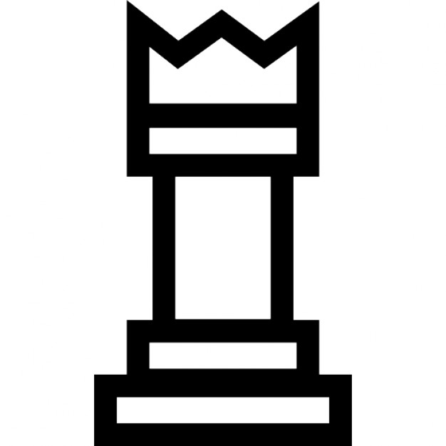 King chess piece outline Icons | Free Download