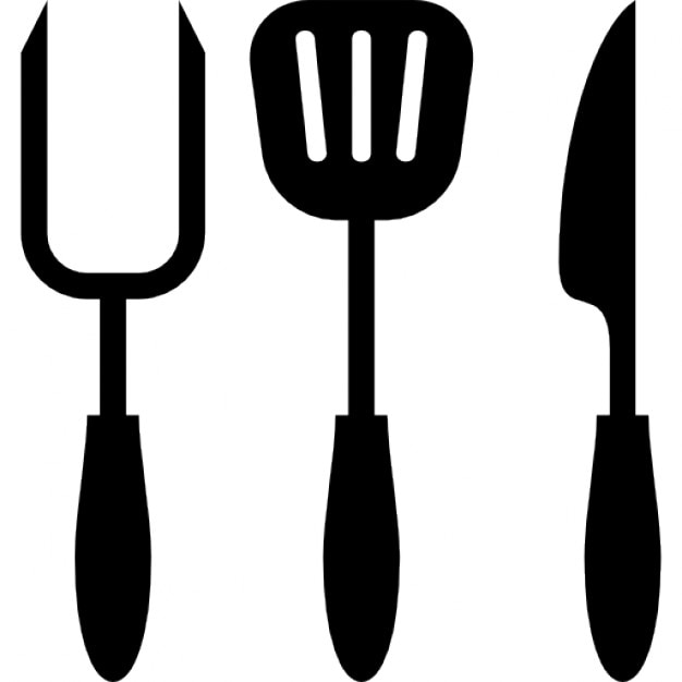 Kitchen Cooking Utensils Icons