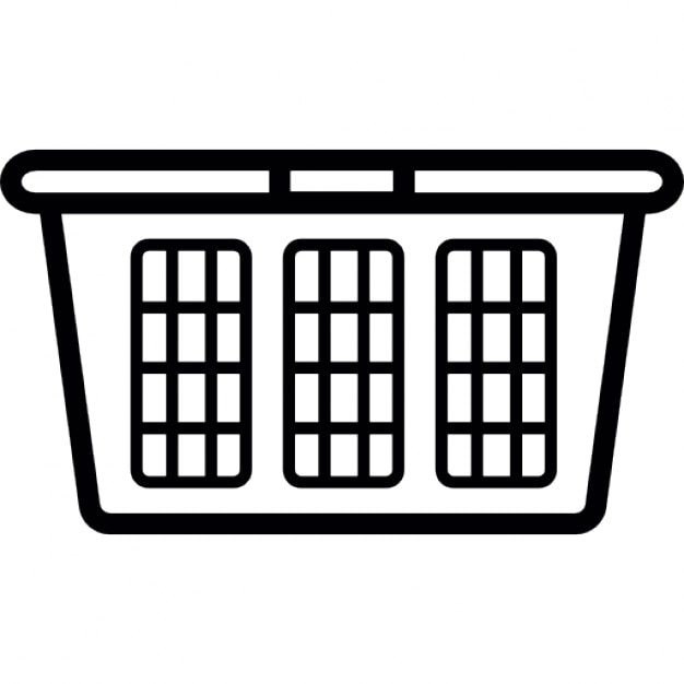 laundry basket icons free download Vector Clean Laundry Laundry Basket Icon