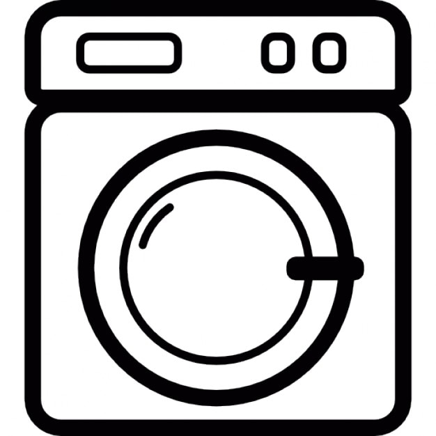 Laundry Machine Front Icons Free Download