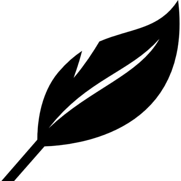Leaf natural shape Icons | Free Download Organic Leaf Symbol