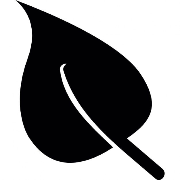 Leaf Silhouette Icons | Free