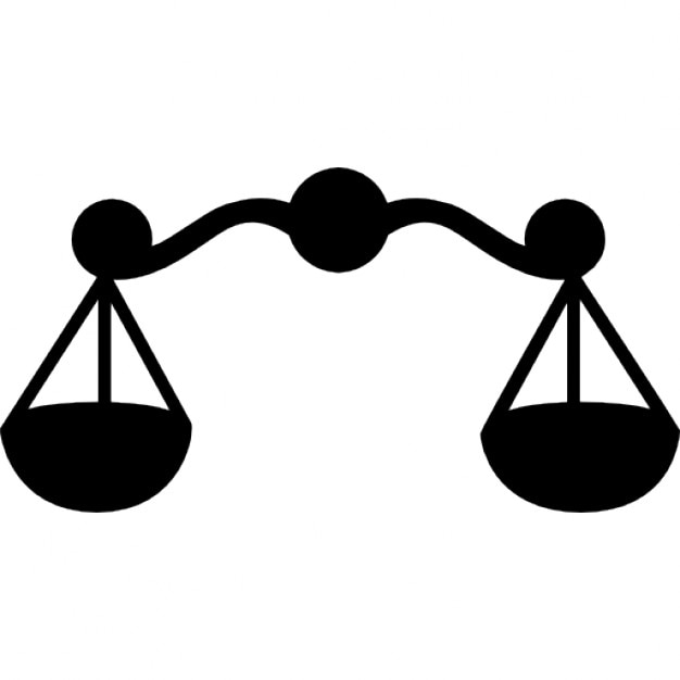 libra astrological symbol of a scale icons free download