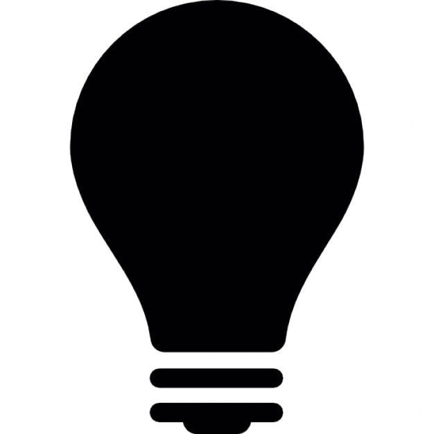 icon lighting. light bulb turned off free icon lighting t