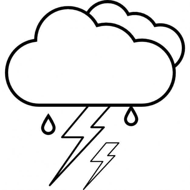 Lightening Ios 7 Interface Symbol For Weather Icons Free Download
