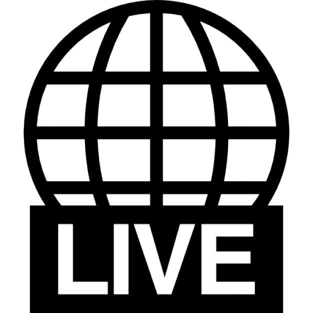 Live World Transmission Symbol Icons Free Download