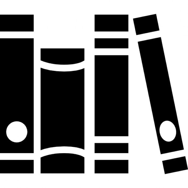 Living room books group Free Icon