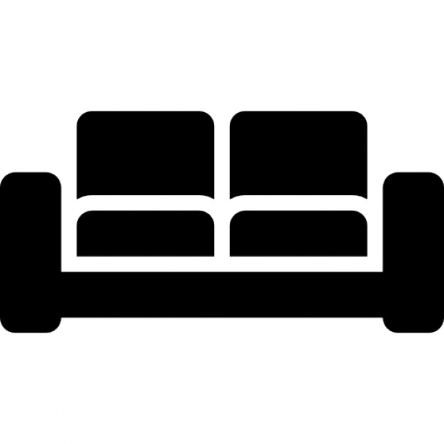 livingroom black double sofa icons free download