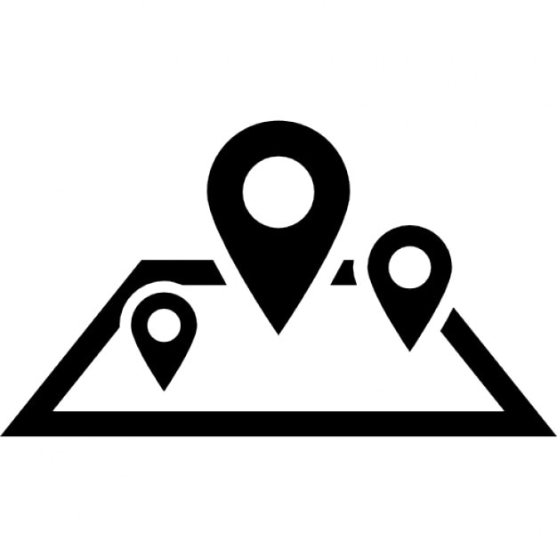 Site Map Icon: Location Map Icons