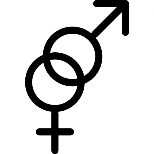 Male And Female Gender Symbols Icons Free Download