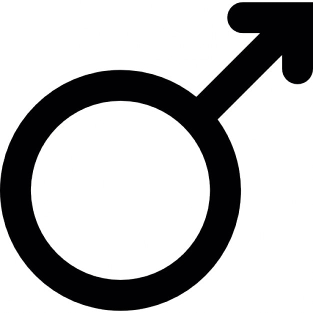 Male Gender Symbol Icons Free Download