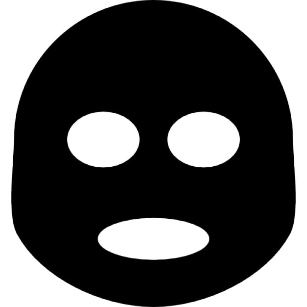 Mask For Relaxation Icons Free Download
