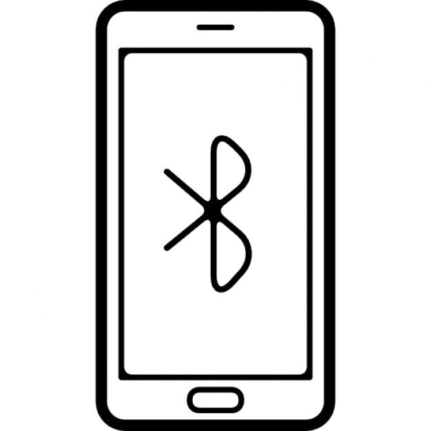 Headphone, ear, phone, bluetooth, music glyph icon in mobile for.