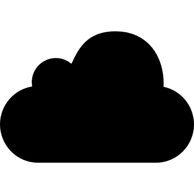 mobileme logo of black cloud icons free download
