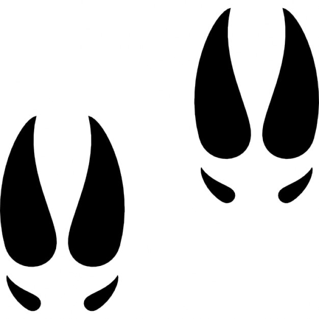 Moose footprints Icons | Free Download