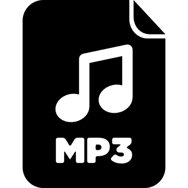 Mp3 Audio File Free Icon