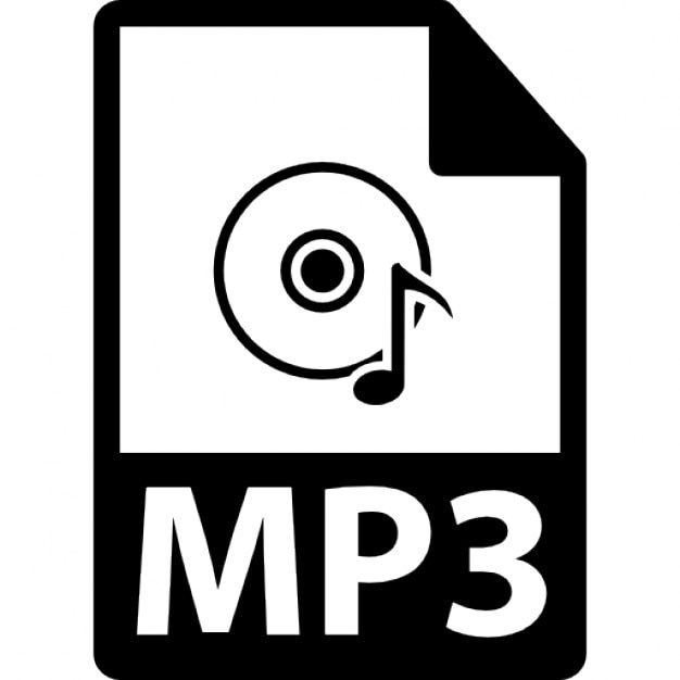 MP3 File Format Variant Free Icon
