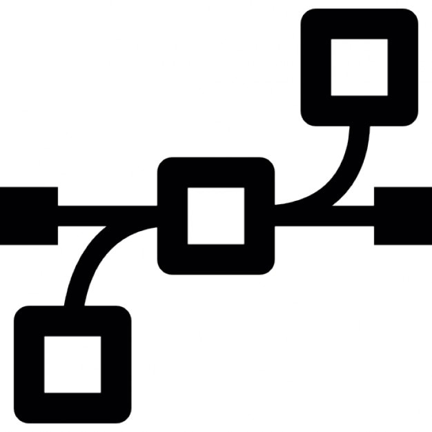 Multiple Connector Points Icons Free Download