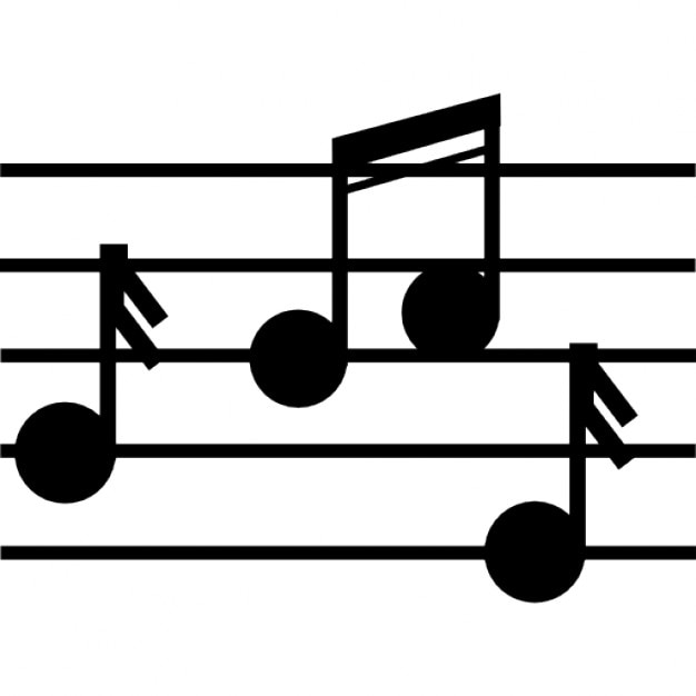 Musical Notation Of Music Class Icons Free Download