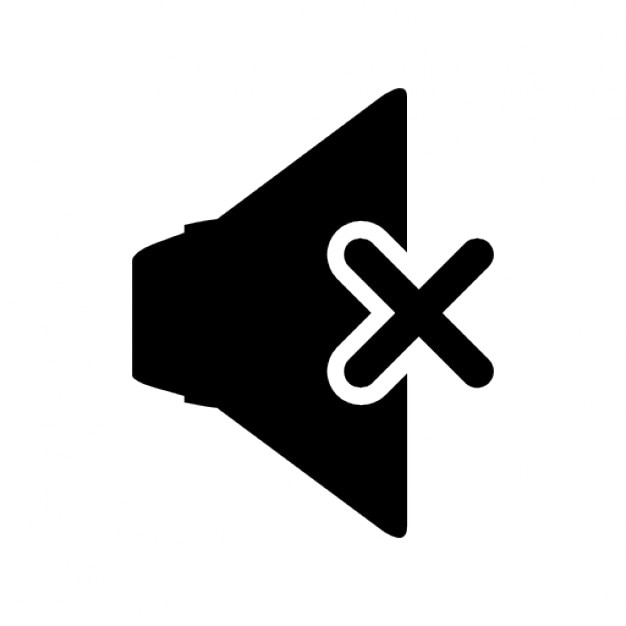 Free Icon | Mute