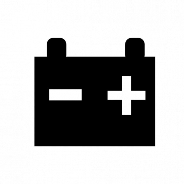 My New Car Battery Icons
