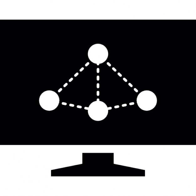 Network Graph Presentation Symbol For Facebook Icons Free Download