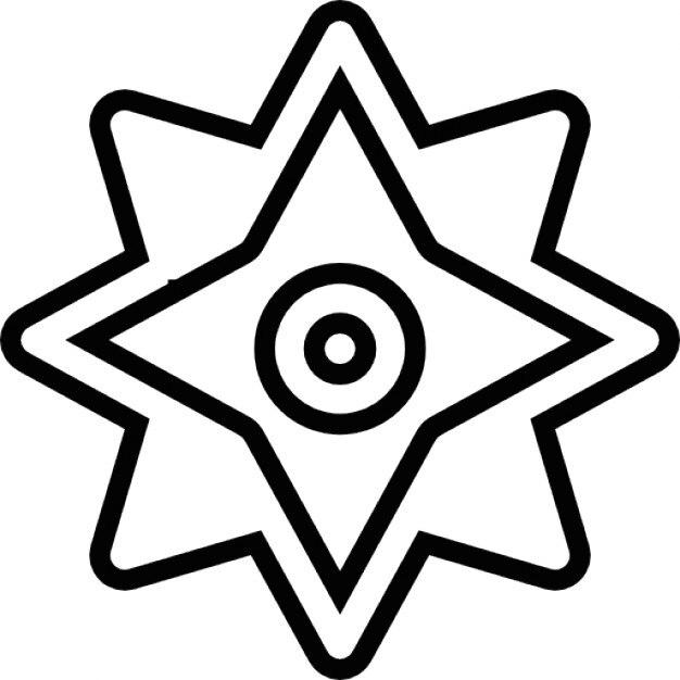 Ninja Throwing Stars Free Icon