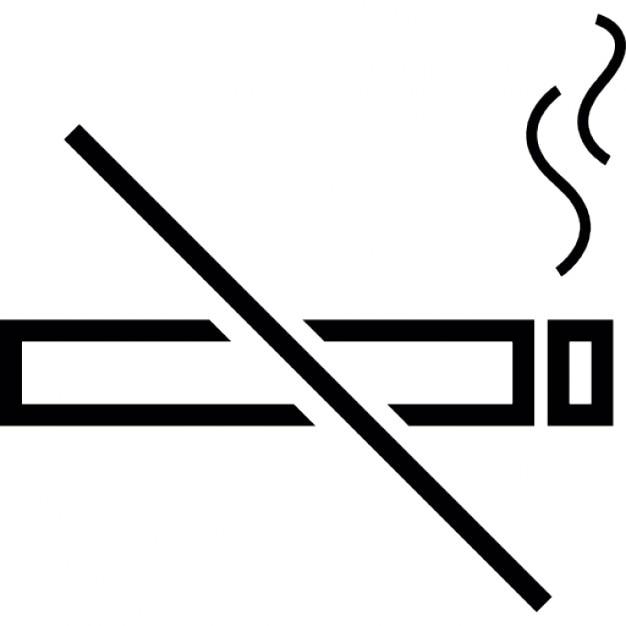 No Smoking Ios 7 Interface Symbol Icons Free Download