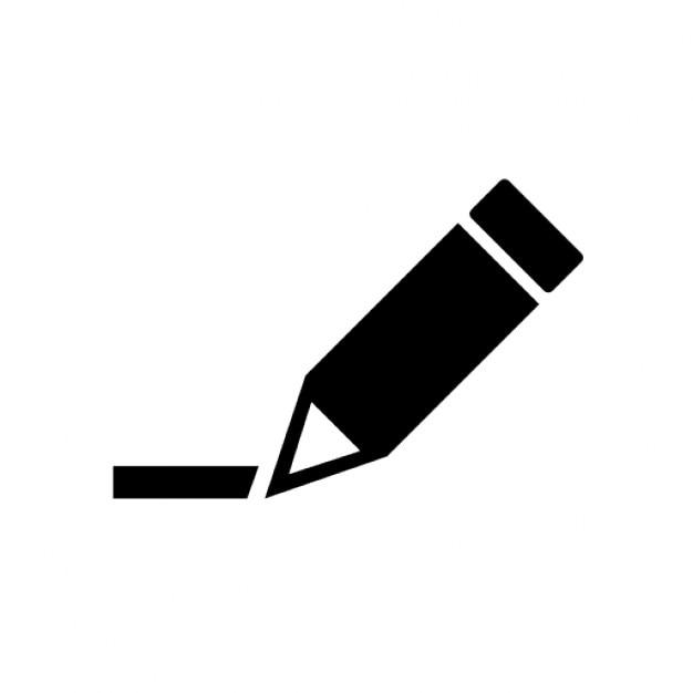 鉛筆の書き込み 無料アイコン