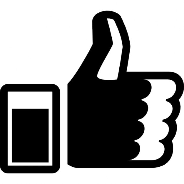 thumbs up hand symbol free gestures icons flaticon - 981×868