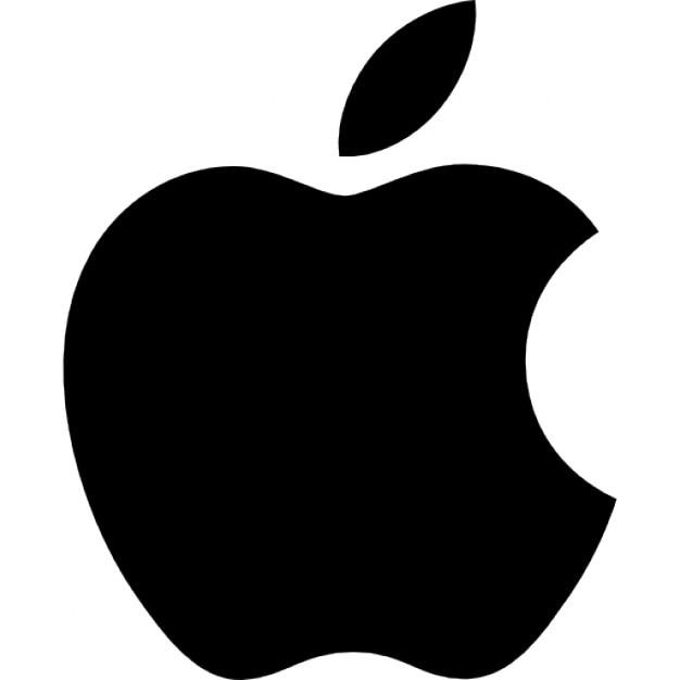 リンゴのロゴ 無料アイコン