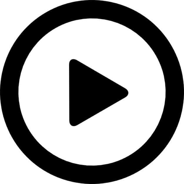 кнопка воспроизведения Бесплатные Иконки