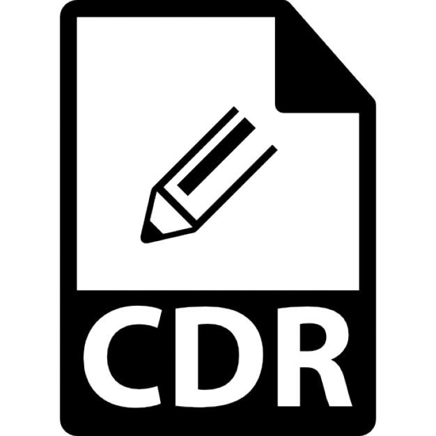 Cdrのファイル形式のシンボル ア...