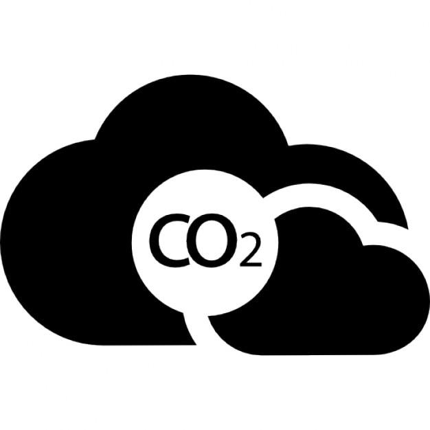 co2の雲 アイコン 無料ダウンロード