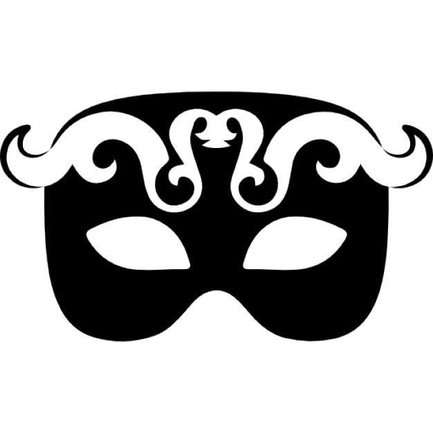 Скачать шаблон маски на глаза