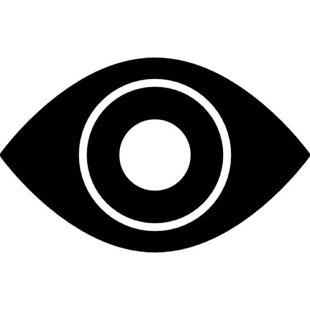 監視の目のシンボル アイコン   ...