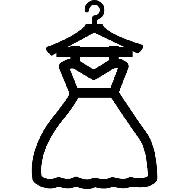 Вешалка для платья невесты